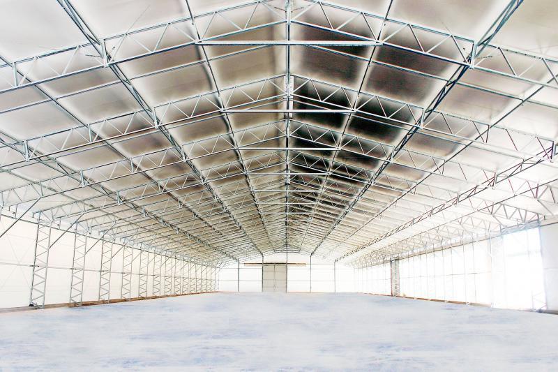 Aluguel de cobertura de membrana técnica (lona)