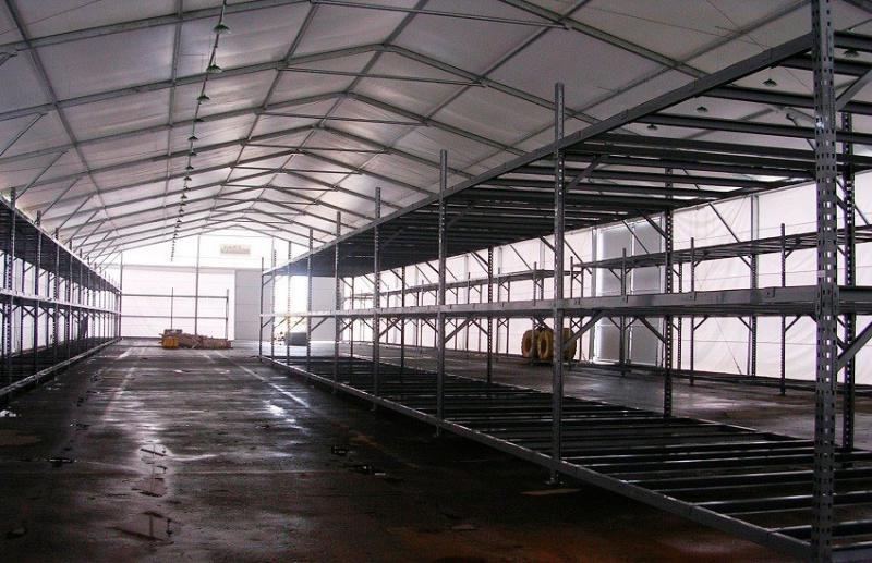 Cobertura de membrana técnica (lona) para alugar