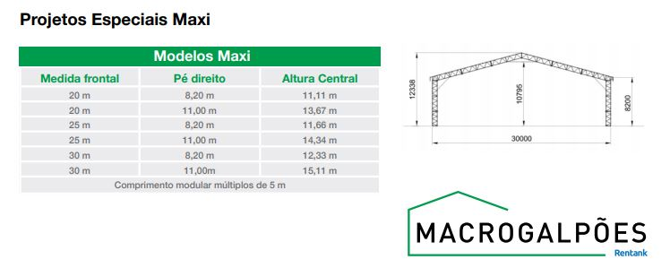 modelo standard maxi